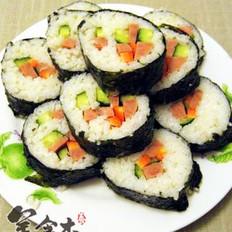 肉松紫菜卷的做法