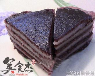 紫米九层糕的做法