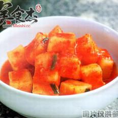 方块辣萝卜泡菜的做法