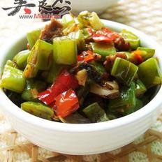 剁椒榄菜四季豆