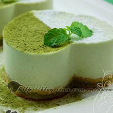 绿茶冰淇淋慕斯