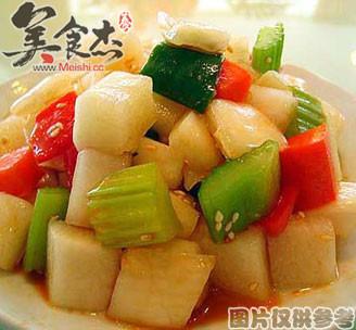 韩国蒜茸泡菜的做法