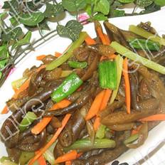 拌炒海茸的做法