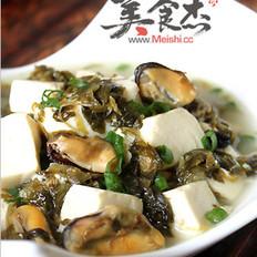 咸菜炖豆腐