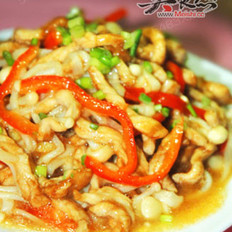 金针菇炒肉丝