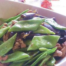 肉末刀豆的做法
