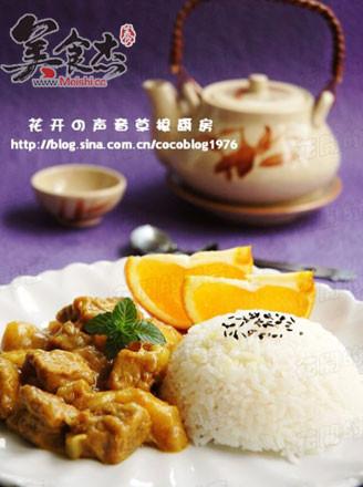 日式咖喱土豆牛肉饭的做法