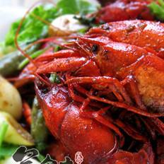 油燜大蝦的做法