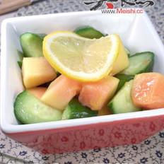 木瓜黄瓜沙拉的做法