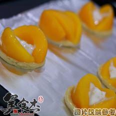 法式桃子布丁