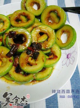 辣烧西葫芦圈的做法