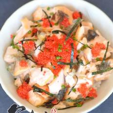 三文鱼茶泡饭的做法