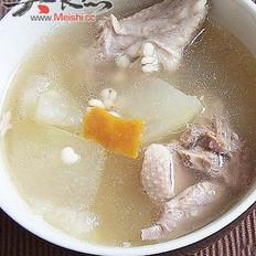 冬瓜薏米煲鸭子