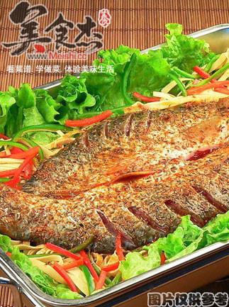 泰国辣味烤鱼的做法【步骤图】_菜谱_美食杰