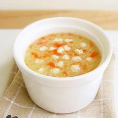 鸡茸豆腐胡萝卜粥