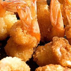 椒盐凤尾虾的做法