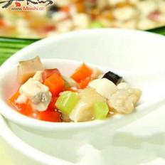 口蘑焖豆腐