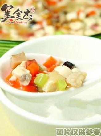 口蘑焖豆腐的做法