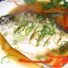 蒸鲳鱼的做法