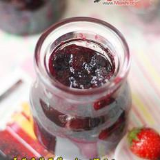 桑葚草莓果酱的做法
