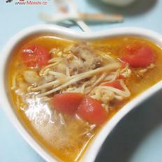 金針番茄肥牛湯