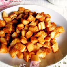 蜂蜜面包干的做法