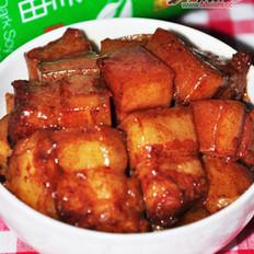 土豆烧五花肉的做法
