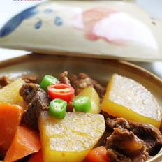 牛腩炖萝卜的做法