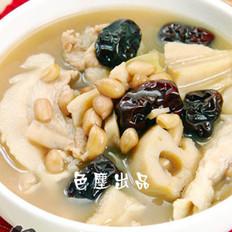 花生紅棗藕塊湯