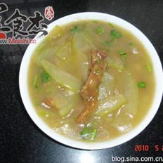 冬瓜炸肉汤