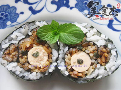 小熊寿司的做法【步骤图】_菜谱_美食杰