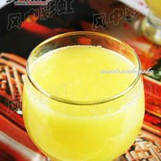 菠萝白菜汁的做法
