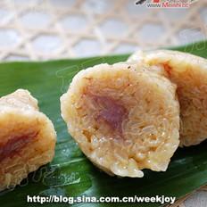 咖喱牛肉粽的做法