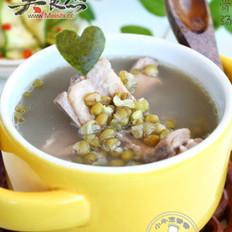 翠皮解暑排骨汤的做法