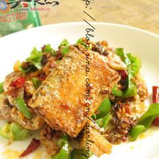 回锅麻辣带鱼的做法