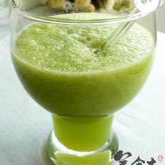 纤绿密瓜汁的做法