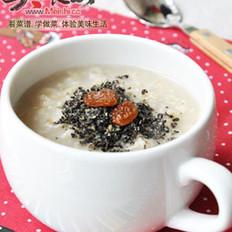 燕麦芝麻粥