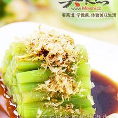 柴鱼片拌莴苣的做法