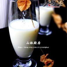 甘蔗雪梨牛奶汁的做法