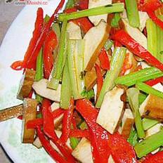 豆干炒芹菜