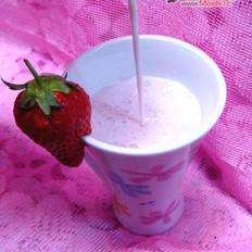 草莓牛奶汁
