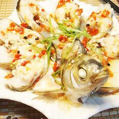 剁椒扁鱼的做法