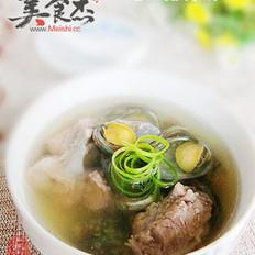 鲍鱼排骨汤的做法