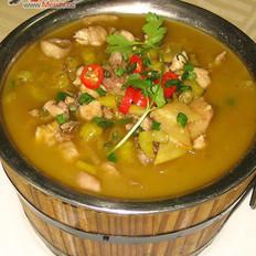 姜汁热碗开胃鸡