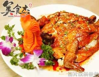 红咖喱金瓜加积鸭的做法
