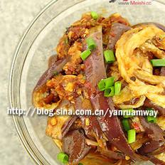 鱼香拌茄子的做法