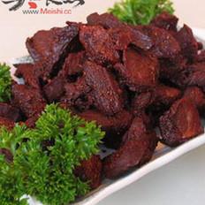 五香辣味牛肉干的做法
