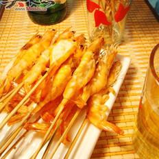 蒜蓉烤蝦的做法
