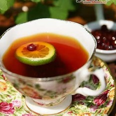 冰冻果酱红茶