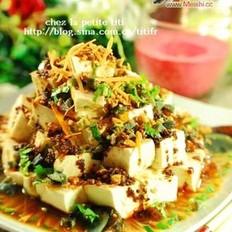 什锦凉拌豆腐的做法